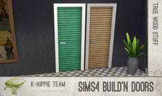 Mod The Sims - Wood Door recolors x21 - Build'n Doors - True Wood