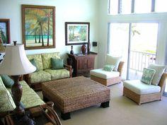 Tropical Living Room Interior