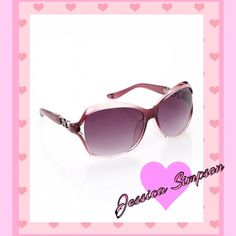 NEW! Jessica Simpson Wine Link Sunglasses NEW! Protect yourself from harmful UV rays in these wine colored sunglasses from the Jessica Simpson Collection. These stylish sunnies are perfectly primed for the spotlight with a bold and on-trend look that lends sophistication to any ensemble. Jessica Simpson Accessories Sunglasses