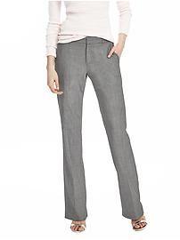 Logan-Fit Gray Lightweight Wool Trouser