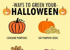 WAYS TO GREEN YOUR HALLOWEEN