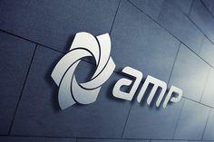 amp_5 Logo Design, Amp