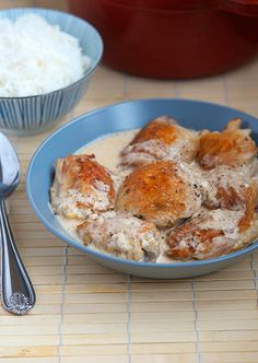 Coconut Chicken Adobo | Appetite for China <-- try this after the regular Chicken Adobo
