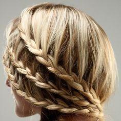 Nice hairdo!