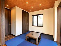 珍しいブルーの畳 Sankyo, Design
