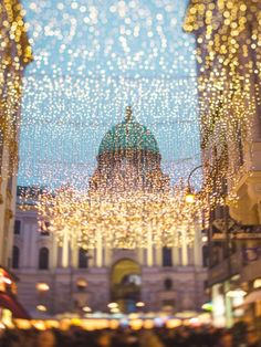 Christmas in Vienna can be as magical as a fairytale. Blog Pictures, Vienna, Fairytale, Christmas Time, Ceiling Lights, Instagram, Fairy Tail, Fairytail, Fairy Tales