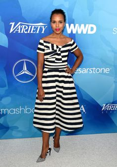 daiilycelebs:    11/19/15 - Kerry Washington at WWD and Variety's Stylemakers Event in Culver City.