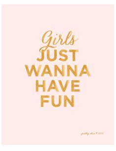 Girls Just Wanna Have Fun! PRETTY CHIC SF