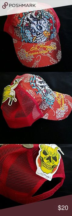 BF SALE ✴🎁NEW ED HARDY BY CHRISTIAN AUDIGIER HATS NEW & AUTHENTIC Ed Hardy Accessories Hats