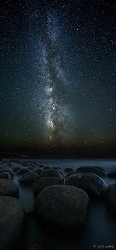 Milky Way - Bowling Ball Beach, California
