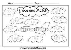 Image result for spelling numbers worksheet for kids