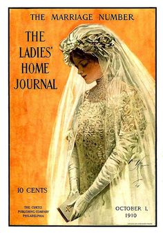 Ladies Home Journal The Marriage Number October 1, 1910 Harrison Fisher