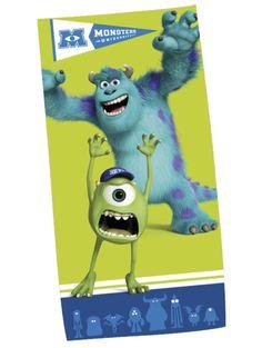 Monsterit-yliopisto-pyyhe Kuivaa itsesi pyyhkeeseen, jota komistavat Monsterit-yliopisto-elokuvan hahmot! Pyyhe on sataprosenttista puuvillaa.  Koko 75 x 150 cm.