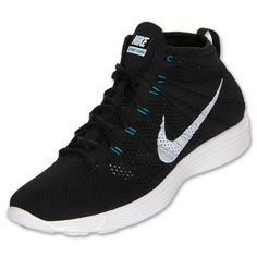 Nike Lunar Flyknit Chukka Black Neo Turquoise Available Now