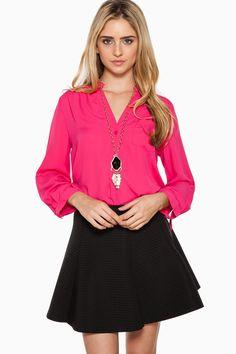 All About You Skirt in Black / ShopSosie #black #skater #skirt #shopsosie
