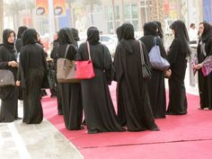 """As J Roaman says """"black is black, and chic is chic everywhere"""", Burqas + Chanel & Gucci=chic!"""