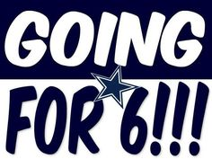 Going For? Oh HELL NO....We're Gonna Get That Sixth Ring This Year!!!!