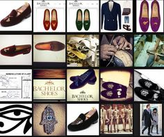 BACHELORSHOES - Finally the man can wear something classy fashion-forward and trendy ! handmade in Spain! VELVET SLIPPERS