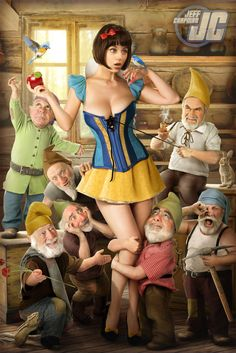 Snow White by Jeffach.deviantart.com on @deviantART