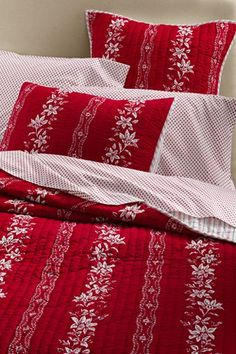 Lands End!  Love! Holiday Quilt $89.99