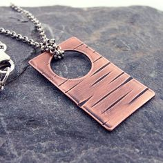 On Safari... Copper and Sterling Silver by DebSoromenhoJewelry
