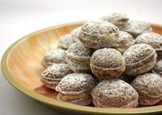 Czech Recipes, Russian Recipes, Christmas Baking, Christmas Cookies, Polish Recipes, Sweet And Salty, Cupcake Cakes, Almond, Bakery
