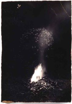 she was beautiful, but she was beautiful in the way a forest fire was beautiful, something to be admired from a distance. not up close. -artist:Masao Yamamoto