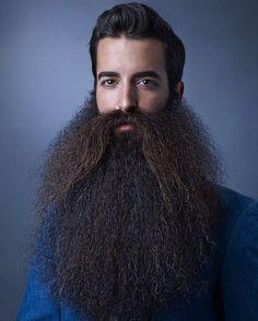 """Photo by Markus Hanke captured at the World Beard & Moustache Championships in Leogang, Austria 2015.  #beardchamp #madisonrowley #worldchampion…"""