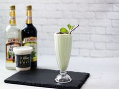 Ice Cream and Cocktails: (Non-Dairy!) Grasshopper Mint Cacao