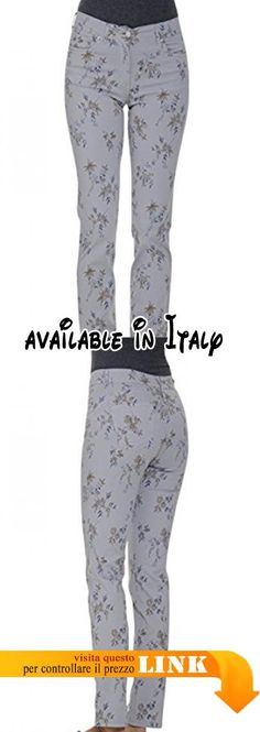 B0788DB73G : JEANS&POLO 67465/F JEANS PUSH-UP COTONE STRETCH ST. RAMO FIORE SOVRATINTO (52 IT DONNA). Made in Italy. Lavaggio a 30