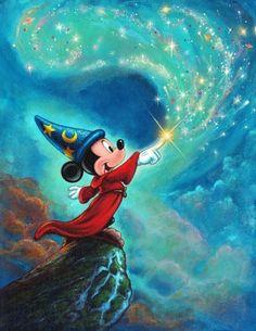 "Disney Fine Art: ""Symphony of Color"" by Annick Biaudet:)"