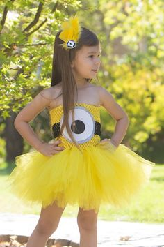 Minion Tutu by OhMyTutuCuteByDeanna on Etsy