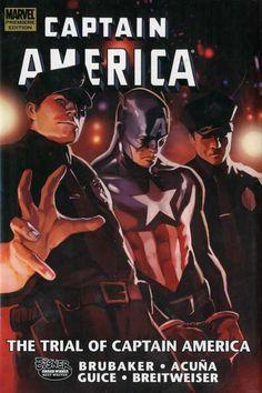 Captain America: The Trial of Captain America (Ed Brubaker, et al) / PN6728.C35 B792 2011 / http://catalog.wrlc.org/cgi-bin/Pwebrecon.cgi?BBID=12930504