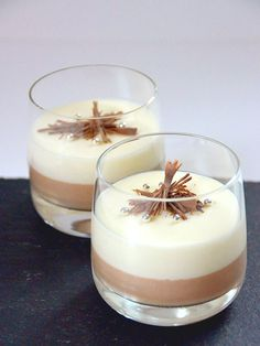 Makkelijke dubbele chocolademousse - My Simply Special foodtruckdesserts Food Truck Desserts, No Bake Desserts, Delicious Desserts, Yummy Food, Sweet Recipes, Snack Recipes, Cooking Recipes, Snacks, Punch Recipes