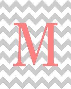 Perfect for wallpaper M Wallpaper, Wallpaper Quotes, Wallpaper Backgrounds, Monogram Alphabet, Monogram Letters, Maria Clara, Letter K, Different Fonts, Nursery Art
