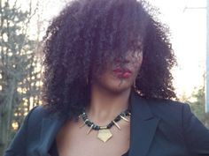 Pinners get 10% off from my Etsy shop! Use the code PIN10 at checkout. Black Shell Gold Spike Pendant #Statement #Necklace by KMagnifiqueDesigns