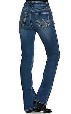 Wrangler Women's Willow Ultimate Riding Jean Light Wash Mid Rise Boot Cut Jeans   Cavender's Women's Jeans, Cut Jeans, Thermal Comfort, Country Wear, Free Shipping, Medium, Boots, Pretty, Shop