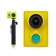 Xiaomi Yi Sport Camera (Xiaomi Yi Action Camera) is featred with Ambarella A7LS DSP + 16MP Sony Exmor CMOS Sensor, support 155° Ultra Wide Angle, WiFi, Bluetooth, water-resistant and multiple photo shooting modes.