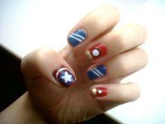 Avengers | Community Post: 10 Examples Of Geektastic Nail Art