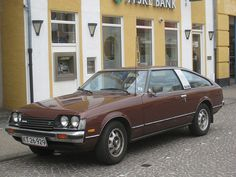 1978 Toyota Celica LiftBack. I had one like this in mustard yellow. The only car that I've ever owned that I miss.