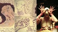 Inside the sketchbooks of Guillermo del Toro. This man is a genius.