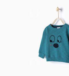 ZARA - KIDS - Eyes sweatshirt