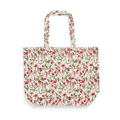 Red Floral Gardeners World Canvas Tote Bag Primark, Buy Gift Cards, Girls Pajamas, Girls In Leggings, Baby Accessories, Canvas Tote Bags, Girls Shoes, Reusable Tote Bags, Boys T Shirts
