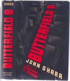 John O'Hara, Butterfield 8, New York: Harcourt, Brace, 1935. Jacket by Arthur Hawkins, Jr.