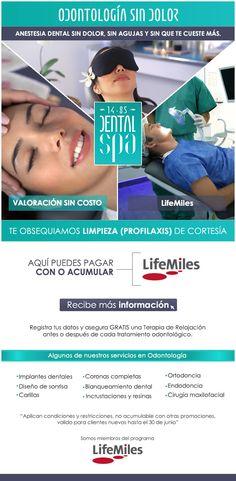 #NOVOCLICK esta con #DentalSpa #Odontología sin aguja y sin dolor