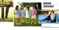 LookBook Macarenitas, alpargatas para niños