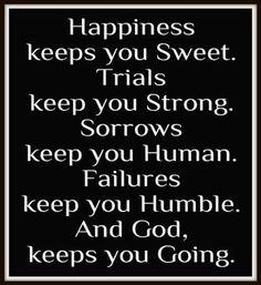 God keeps you going! jj