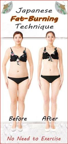 how to lose fat without exercise:  Incredible Japanese Fat-Burning Technique – No Need to Exercise!  Incredible Japanese Fat-Burning Technique – No Need to Exerci