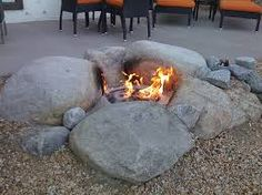 Image result for cool backyard fire pits