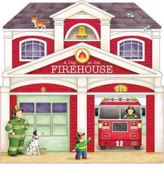 A Day at the Firehouse by Giovanni Caviezel, available at Book Depository with free delivery worldwide. Diy Christmas Village Displays, Truck Bedroom, Disney Princess Toddler, Community Places, Easy Art For Kids, Toddler Books, Country Art, Fire Engine, Simple Art